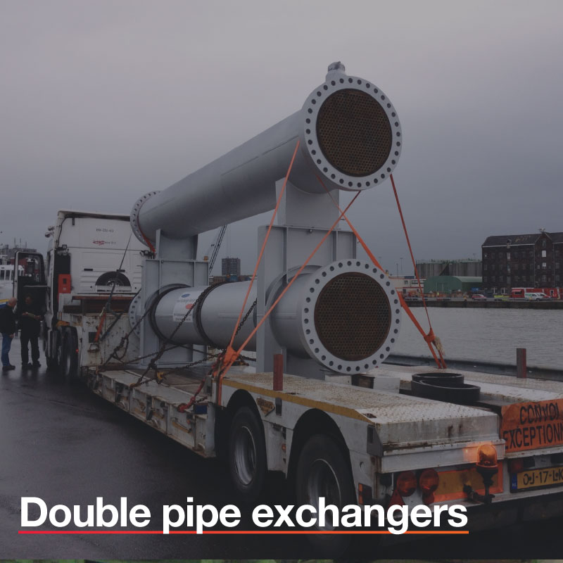 Double-pipe-exchangers
