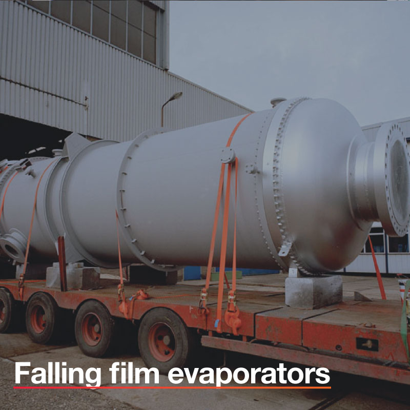 Falling-film-evaporators