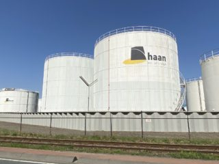 Tank Top Roof Replacement at Haan Oil Storage